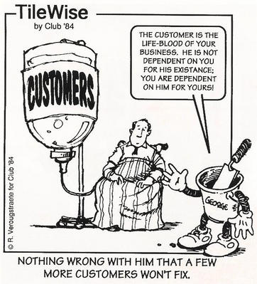 Customers Are Key