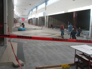 Mall Tile Renovation