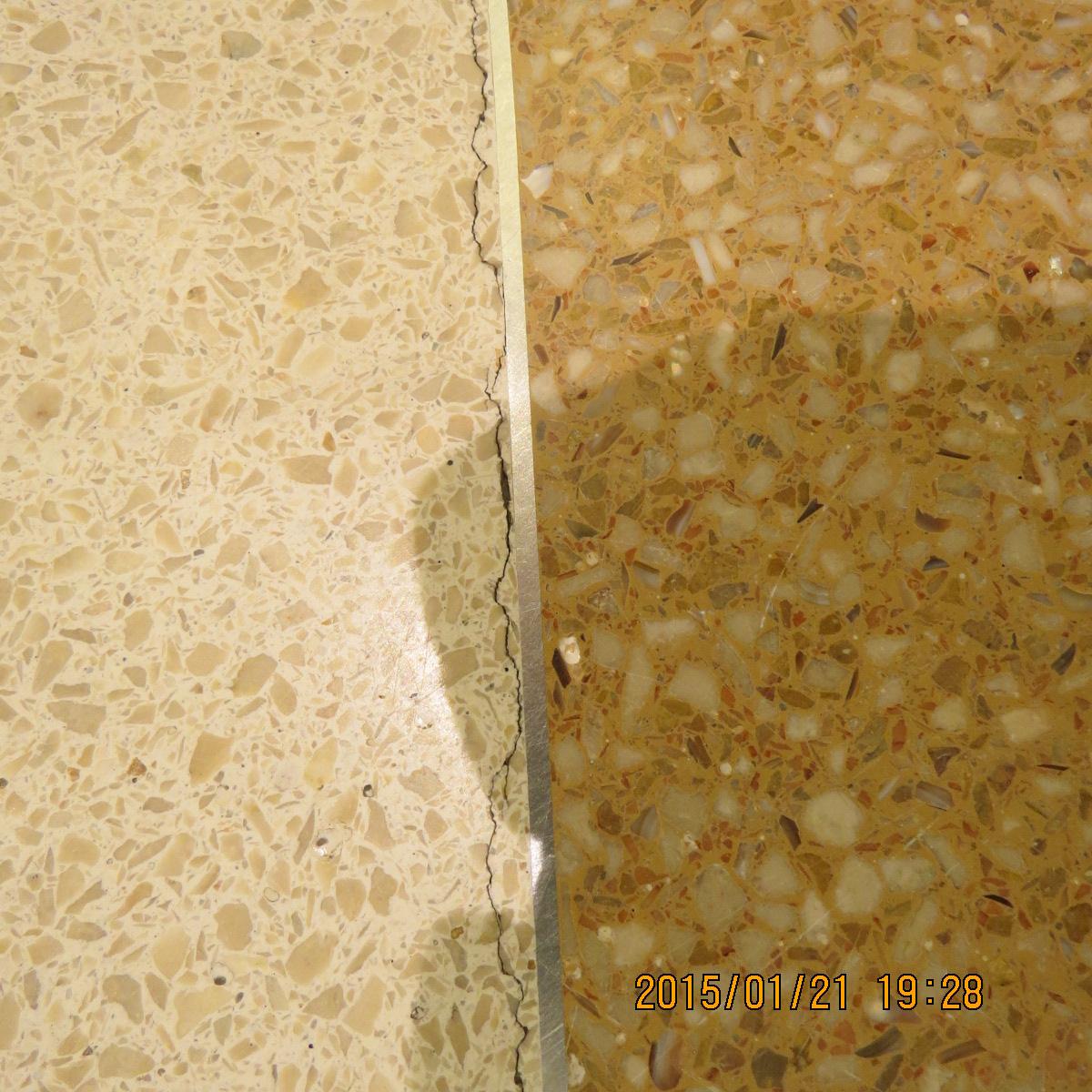 Investigation of cracked terrazzo flooring - Terrazza o terrazzo ...