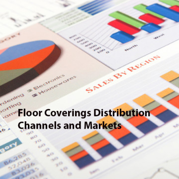 Colorful financial graphs and charts